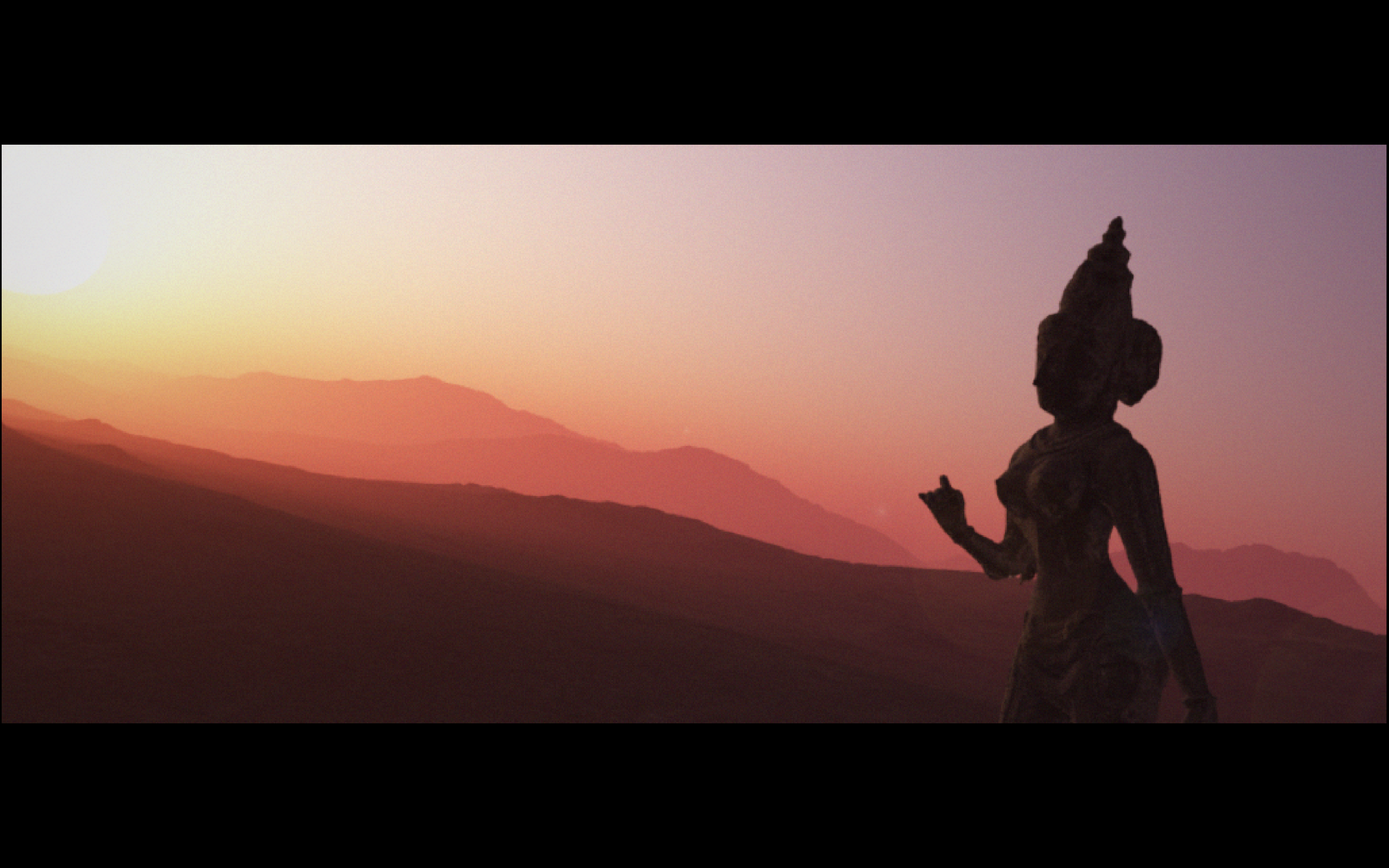 Goddess Parvati Sunset wip